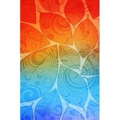 Leaf Color Sam Rainbow 5 5  X 8 5  Notebooks by Mariart