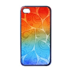 Leaf Color Sam Rainbow Apple Iphone 4 Case (black) by Mariart