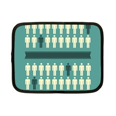 Man Peoplr Line Netbook Case (small)  by Mariart