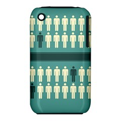 Man Peoplr Line Iphone 3s/3gs by Mariart