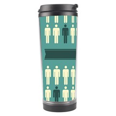 Man Peoplr Line Travel Tumbler by Mariart