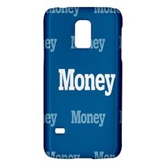 Money White Blue Color Galaxy S5 Mini by Mariart