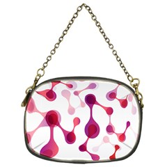 Molecular New Pink Purple Chain Purses (one Side)  by Mariart