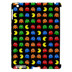 Pacman Seamless Generated Monster Eat Hungry Eye Mask Face Rainbow Color Apple Ipad 3/4 Hardshell Case (compatible With Smart Cover) by Mariart