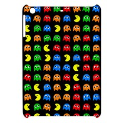 Pacman Seamless Generated Monster Eat Hungry Eye Mask Face Rainbow Color Apple Ipad Mini Hardshell Case by Mariart