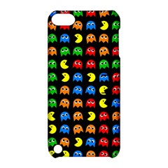 Pacman Seamless Generated Monster Eat Hungry Eye Mask Face Rainbow Color Apple Ipod Touch 5 Hardshell Case With Stand by Mariart