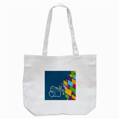 Photography Potraite Panorama Tote Bag (white) by Mariart