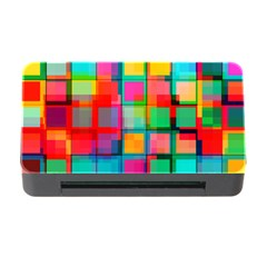 Plaid Line Color Rainbow Red Orange Blue Chevron Memory Card Reader With Cf by Mariart