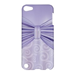 Ribbon Purple Sexy Apple Ipod Touch 5 Hardshell Case by Mariart