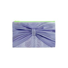 Ribbon Purple Sexy Cosmetic Bag (xs) by Mariart