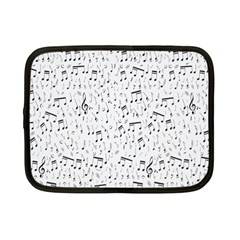 Musical Notes Song Netbook Case (small)  by Mariart