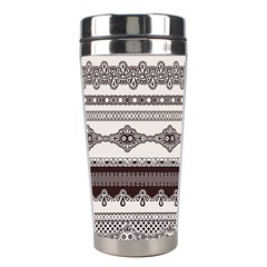 Plaid Circle Polka Dot Star Flower Floral Wave Chevron Triangle Stainless Steel Travel Tumblers by Mariart