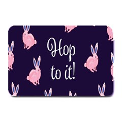 Rabbit Bunny Pink Purple Easter Animals Plate Mats
