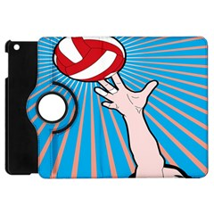 Volly Ball Sport Game Player Apple Ipad Mini Flip 360 Case by Mariart