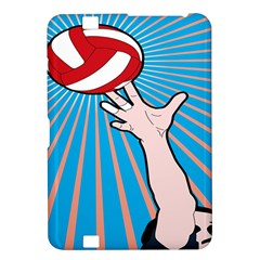 Volly Ball Sport Game Player Kindle Fire Hd 8 9  by Mariart