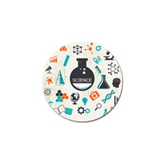 Science Chemistry Physics Golf Ball Marker (10 Pack) by Mariart