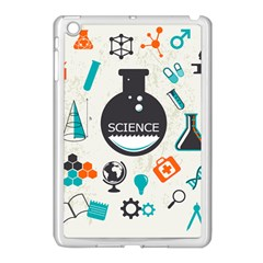 Science Chemistry Physics Apple Ipad Mini Case (white) by Mariart