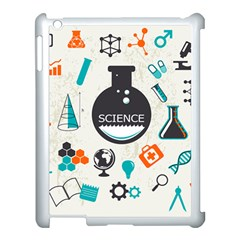 Science Chemistry Physics Apple Ipad 3/4 Case (white) by Mariart