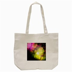 Plaid Star Light Color Rainbow Yellow Purple Pink Gold Blue Tote Bag (cream) by Mariart