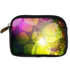 Plaid Star Light Color Rainbow Yellow Purple Pink Gold Blue Digital Camera Cases by Mariart