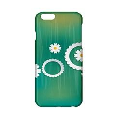 Sunflower Sakura Flower Floral Circle Green Apple Iphone 6/6s Hardshell Case by Mariart