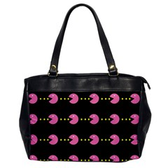 Wallpaper Pacman Texture Bright Surface Office Handbags by Mariart