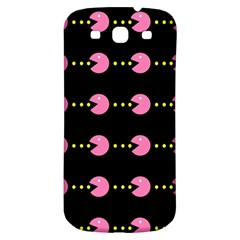 Wallpaper Pacman Texture Bright Surface Samsung Galaxy S3 S Iii Classic Hardshell Back Case by Mariart
