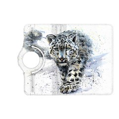 Snow Leopard Kindle Fire Hd (2013) Flip 360 Case by kostart