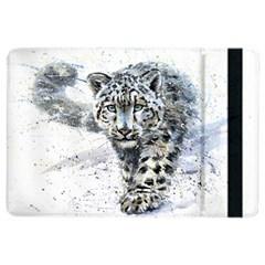 Snow Leopard Ipad Air 2 Flip by kostart