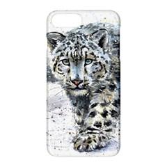 Snow Leopard Apple Iphone 7 Plus Hardshell Case by kostart