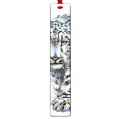 Snow Leopard  Large Book Marks by kostart