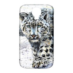 Snow Leopard  Samsung Galaxy S4 Classic Hardshell Case (pc+silicone) by kostart