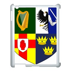 Arms Of Four Provinces Of Ireland  Apple Ipad 3/4 Case (white) by abbeyz71
