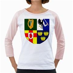 Arms Of Four Provinces Of Ireland  Girly Raglans by abbeyz71