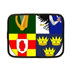 Arms Of Four Provinces Of Ireland  Netbook Case (small)  by abbeyz71