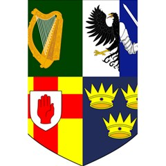 Arms Of Four Provinces Of Ireland  5 5  X 8 5  Notebooks by abbeyz71