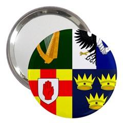 Arms Of Four Provinces Of Ireland  3  Handbag Mirrors by abbeyz71