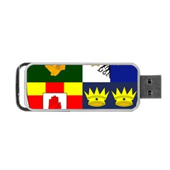 Arms Of Four Provinces Of Ireland  Portable Usb Flash (one Side) by abbeyz71