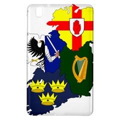 Flag Map Of Provinces Of Ireland Samsung Galaxy Tab Pro 8 4 Hardshell Case by abbeyz71