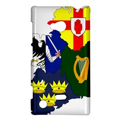 Flag Map Of Provinces Of Ireland  Nokia Lumia 720 by abbeyz71
