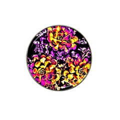 Purple Yellow Flower Plant Hat Clip Ball Marker (10 Pack) by Costasonlineshop