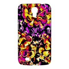 Purple Yellow Flower Plant Samsung Galaxy Mega 6 3  I9200 Hardshell Case by Costasonlineshop