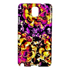 Purple Yellow Flower Plant Samsung Galaxy Note 3 N9005 Hardshell Case by Costasonlineshop