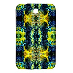 Mystic Yellow Green Ornament Pattern Samsung Galaxy Tab 3 (7 ) P3200 Hardshell Case  by Costasonlineshop
