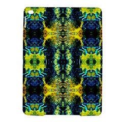 Mystic Yellow Green Ornament Pattern Ipad Air 2 Hardshell Cases by Costasonlineshop
