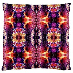 Mystic Red Blue Ornament Pattern Standard Flano Cushion Case (one Side) by Costasonlineshop