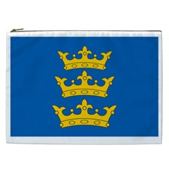 Banner Of Lordship Of Ireland (1177 1542) Cosmetic Bag (xxl)  by abbeyz71