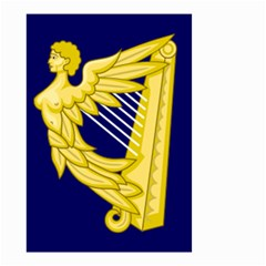 Royal Standard Of Ireland (1542 1801) Small Garden Flag (two Sides) by abbeyz71