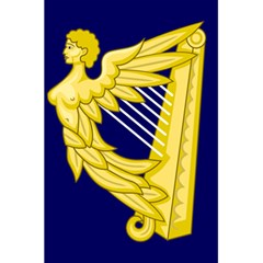 Royal Standard Of Ireland (1542 1801) 5 5  X 8 5  Notebooks by abbeyz71