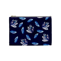 Mystic Crystals Witchy Vibes  Cosmetic Bag (medium)  by BubbSnugg